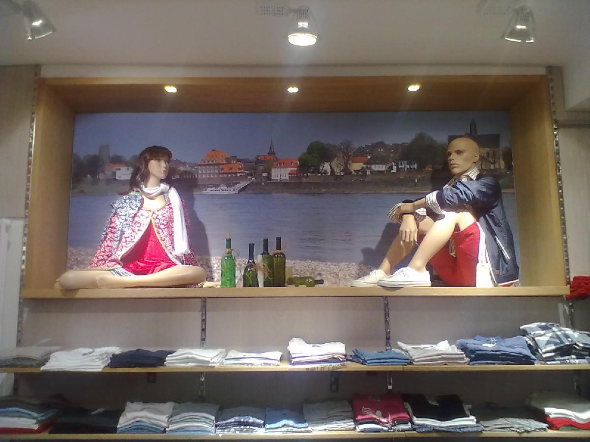 Strandansicht im Laden